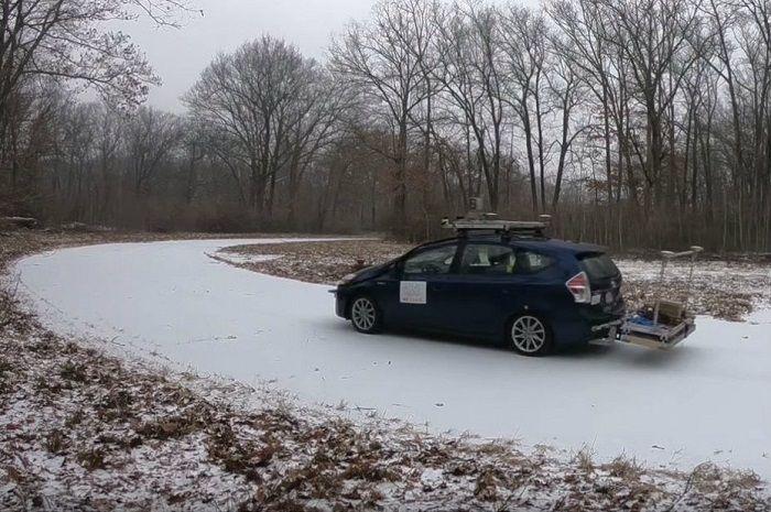 [Vidéo]: Le CSAIL teste un radar pour que les véhicules autonomes puissent se repérer sous la neige et le brouillard