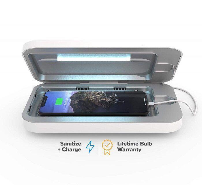 Phonesoap, le stérilisateur uv pour smartphone à adopter