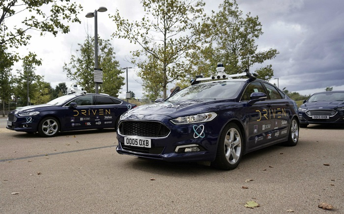 Taxis autonome Ford