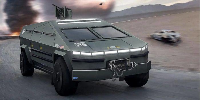 [Vidéo]: Découvrez le Tesla Cybertruck transformé en véhicule militaire suréquipé