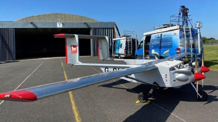 [Vidéo]: Un drone effectue une première livraison sur l'île de Wight au Royaume-Uni