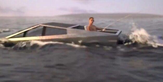 Elon Musk a laissé sous-entendre que le Cybertruck serait amphibie