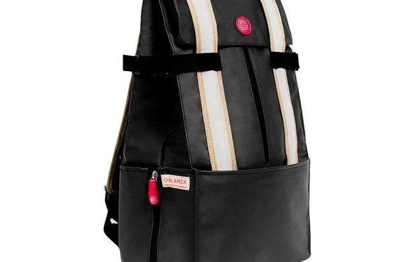 Galuchon Xl: Un sac a dos pour vélo connecté avec clignotants  qui vous assiste dans tous vos déplacements