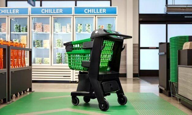 Dash Cart d'Amazon, le chariot intelligent qui sera lancé d'ici la fin de l'année