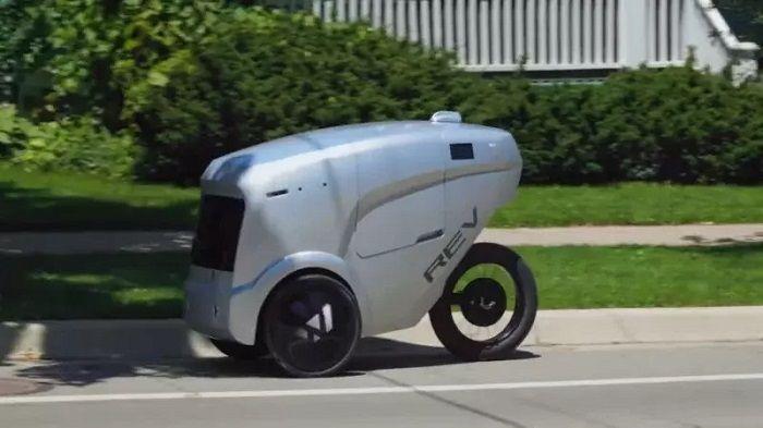 [Vidéo]: La start-up Américaine Refraction.ai lance son service de livraison via robot autonome
