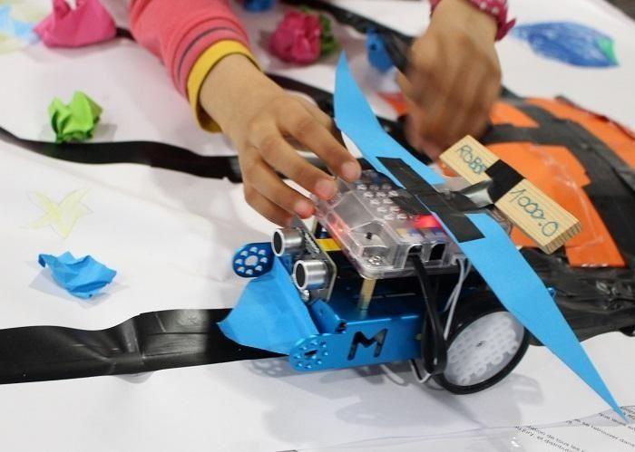 robot educatif programmable smarteo