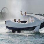 Les taxis volants sur l'eau de Seabubbles seraient lancés en 2021