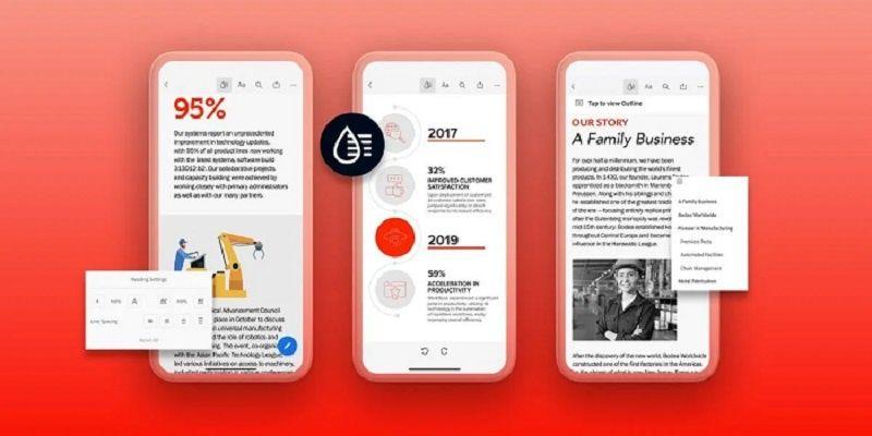 Adobe Liquid Mode exploite l'IA pour reformater les PDF pour les appareils mobiles