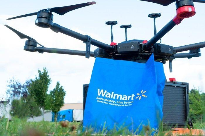 [Vidéo]: Walmart livre des kits de test Covid-19 par drone
