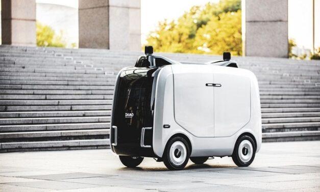 Alibaba lance Xiaomanlv, son propre robot de livraison autonome