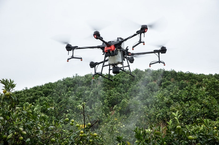 drone agricole Agras