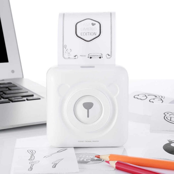 Pocket Printer mini imprimante photo pour smartphone