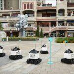 Woowa Brothers: Une start-up Coréenne qui veut permettre à ses robots autonomes de livrer jusqu'aux portes des appartements