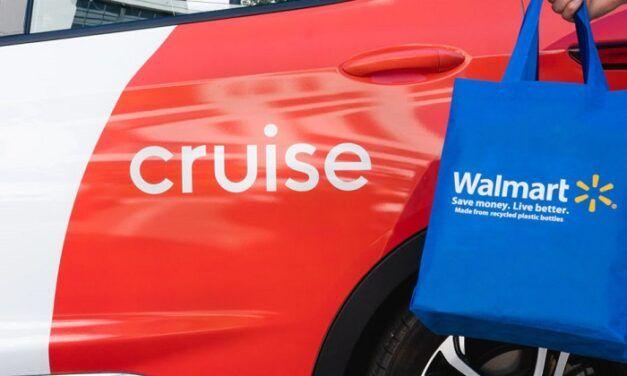 Walmart et Cruise initient un pilote de livraison à domicile avec des véhicules autonomes