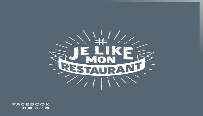 Afin de soutenir les restaurateurs, Facebook initie le mouvement #JeLikeMonRestaurant