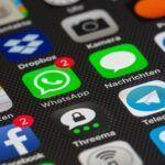 Infographie: les parts de marché des applications de messagerie instantanée