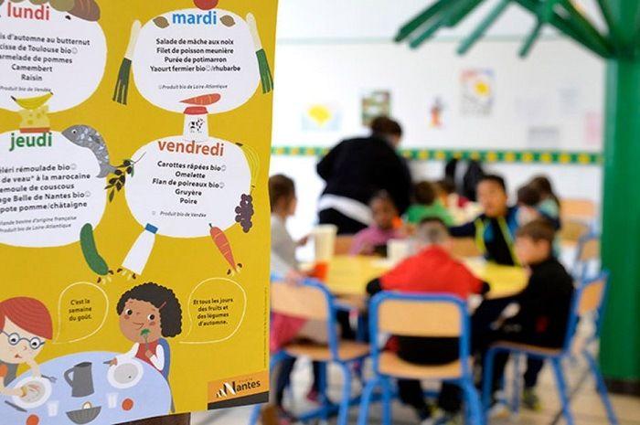 cantine scolaire à Nantes