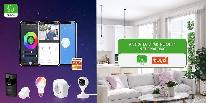 Tuya et Deltaco s'unissent pour le marché Nordique de la maison connectée