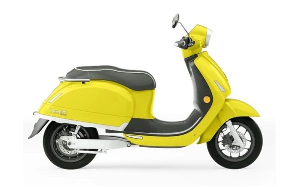 Nouveau Kumpan 54 Ignite : Un scooter électrique au look Vintage polyvalent