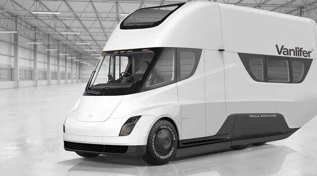 Elon Musk parle d'un futur camping car électrique Tesla doté d'un toit à énergie solaire