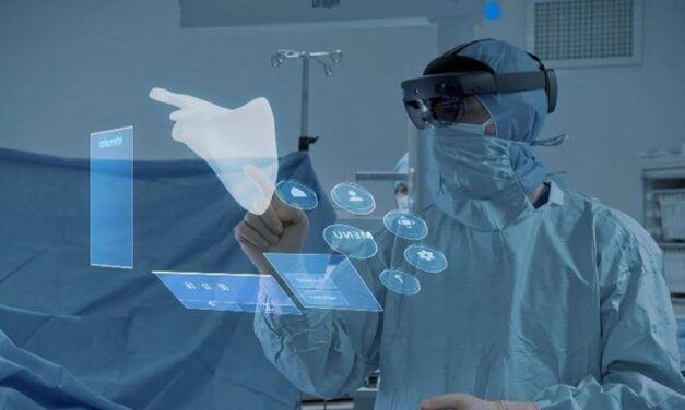Avec Hololens2, MIcrosoft a organisé 13 opérations chirurgicales en réalité augmentée