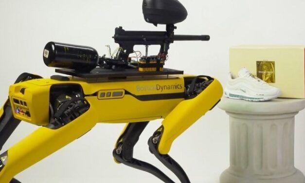 Boston Dynamics s'érige contre la société qui a crée le robot paintball