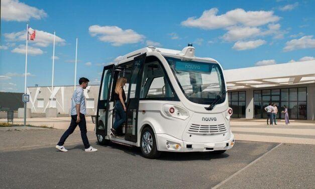 Un bus autonome est en projet chez Navya et Bluebus