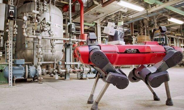 [Vidéo]: BASF va utiliser les robots d'Anybotics pour l'inspection de son usine