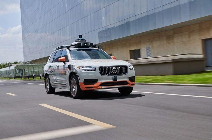 Didi Chuxing choisit Volvo cars pour sa flotte de robots taxis
