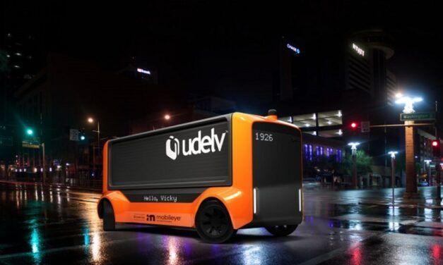 Udelv et Mobileye s'unissent pour une flotte de camionnettes de livraison autonomes en 2028