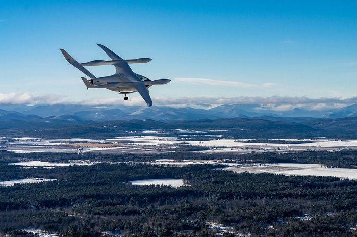 Béta Technologies et son aéronef électrique séduit Amazon