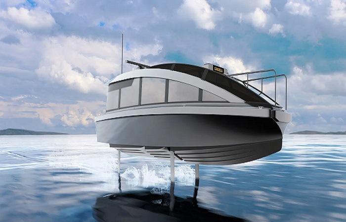 Candela dévoile son futur bateau-taxi électrique hydroptère