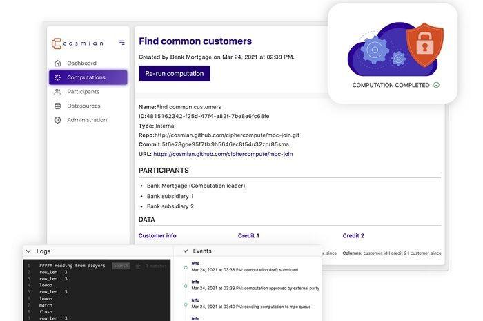La jeune pousse Cosmian œuvre à l'exploitation des données chiffrées