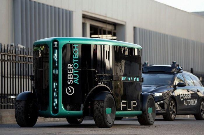 [Vidéo]: SberAutoTech présente Flip, un prototype dédié à la mobilité du dernier kilomètre