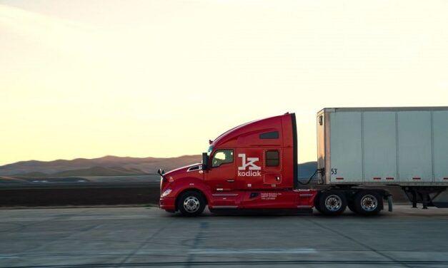 Bridgestone prend participation dans la start-up des camions autonomes Kodiak Robotics