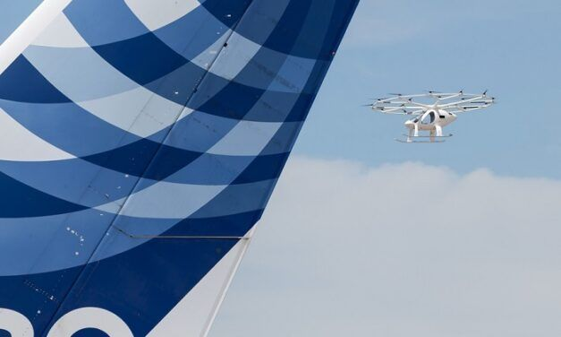 [Vidéo]: Le Volocopter 2X effectue un vol de démonstration en France
