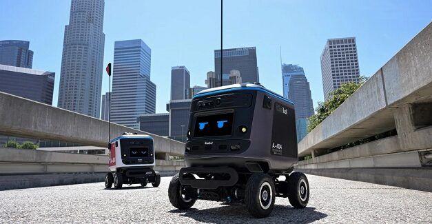 Aux États-Unis, ces Kiwibots sont spécialisés dans la livraison de repas