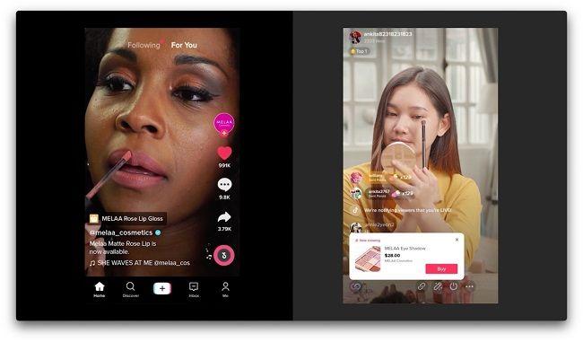 TikTok lance Live Shopping et noue de nouveaux partenariats
